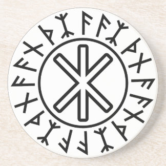 La protección No.2 (negro) de Odin Posavasos Manualidades