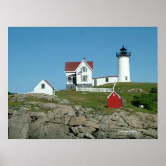 La protuberancia pequeña Maine ligero 281, demanda Póster