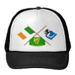 La provincia cruzada de Irlanda y de Connacht seña Gorros Bordados