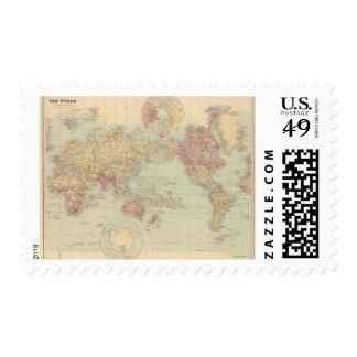 La proyección de Mercator del mundo 2