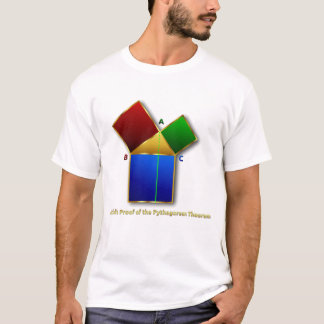 La prueba de Euclid del teorema pitagórico Playera