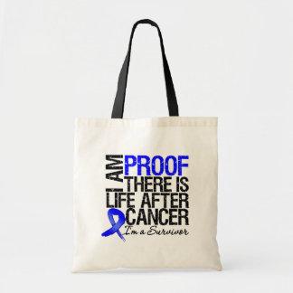 La prueba del cáncer de colon allí es vida después bolsa tela barata