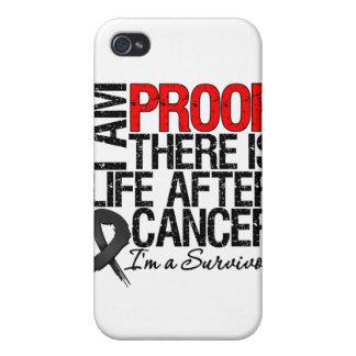 La prueba del melanoma allí es vida después del cá iPhone 4/4S fundas