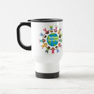 La psicología de la escuela en todo el mundo asalt tazas de café