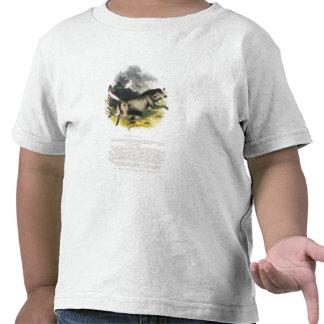 La PU educativa del ejemplo del lobo (lupus de Camisetas