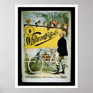 La publicidad de poster Whitworth completa un cic