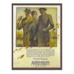 La publicidad del vintage de la reproducción, Aust Tarjetas Postales