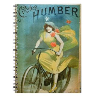 La publicidad para Humber completa un ciclo el Libretas Espirales