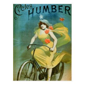 """La publicidad para """"Humber completa un ciclo"""" (el Tarjetas Postales"""