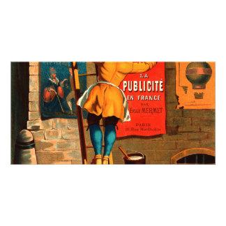 La publicité en France par Emile Mermet Card