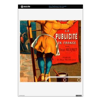 La publicité en France par Emile Mermet Decal For The PS3 Slim