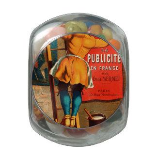 La publicité en France par Emile Mermet Jelly Belly Candy Jar