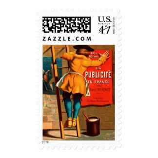La publicité en France par Emile Mermet Postage Stamp