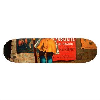 La publicité en France par Emile Mermet Skateboard Deck