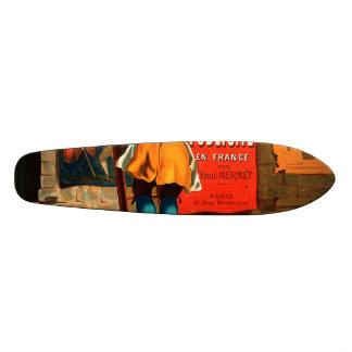 La publicité en France par Emile Mermet Skate Board Deck