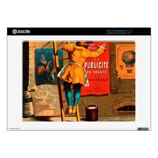 La publicité en France par Emile Mermet Skin For Acer Chromebook