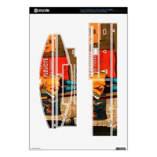 La publicité en France par Emile Mermet Skins For The PS3