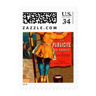 La publicité en France par Emile Mermet Stamp