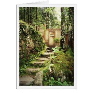 La puerta a la montaña de Eliot Tarjetas