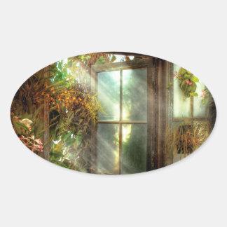 - La puerta al paraíso - Peter inspirado 1-11 Colcomanias Ovaladas