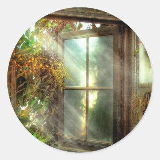 - La puerta al paraíso - Peter inspirado 1-11 Pegatinas Redondas