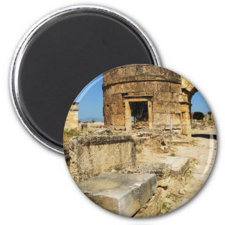 La PUERTA BIZANTINA - Hierapolis Imán Redondo 5 Cm