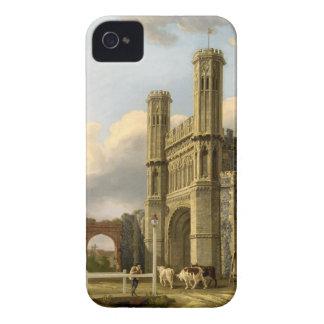 La puerta Cantorbery Inglaterra de St Augustine iPhone 4 Cárcasa
