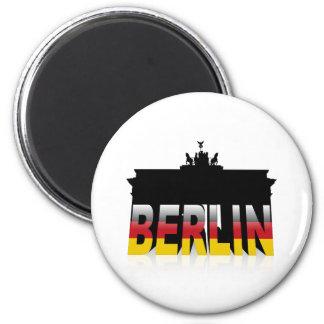 La puerta de Brandeburgo en Berlín (Alemania) Iman De Frigorífico
