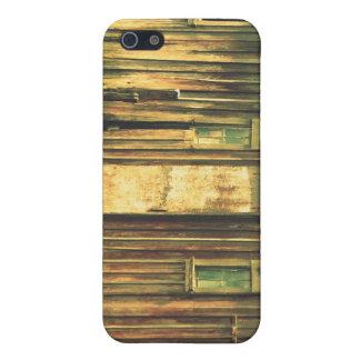 La puerta de granero vieja iPhone 5 funda