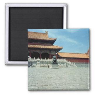 La puerta de la dinastía de Ming suprema de la arm Imanes Para Frigoríficos