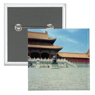 La puerta de la dinastía de Ming suprema de la arm Pins