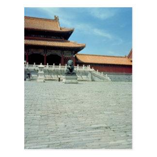 La puerta de la dinastía de Ming suprema de la arm Postales