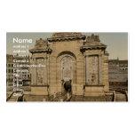 La puerta de París, obra clásica Photochrom de Lil Tarjeta De Visita