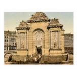 La puerta de París, obra clásica Photochrom de Lil Postal