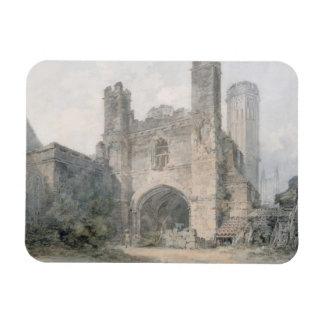 La puerta de St Augustine, Cantorbery, c.1797 (w/c Iman Flexible