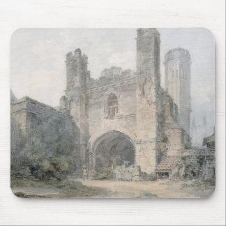 La puerta de St Augustine, Cantorbery, c.1797 (w/c Mousepad