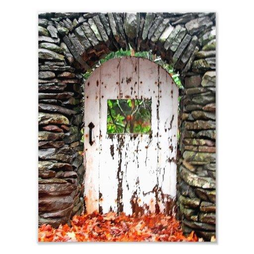 La puerta del bosque arte con fotos