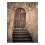 La puerta del cielo tarjeta postal