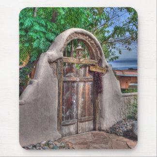 La puerta Mousepad de Josefina Tapetes De Ratón