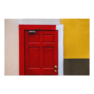 La puerta roja cojinete
