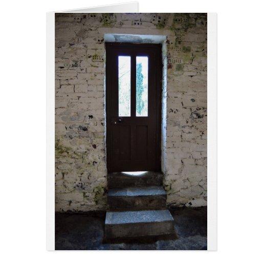 La puerta tarjetón