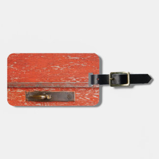 La puerta vieja etiquetas para maletas