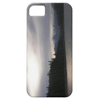 La puesta del sol de plata en el Haida Gwaii iPhone 5 Fundas