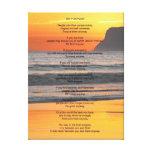 """La puesta del sol del océano """"lo hace de todos mod impresiones en lienzo estiradas"""