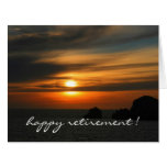 la puesta del sol reservada colorea grande tarjeta