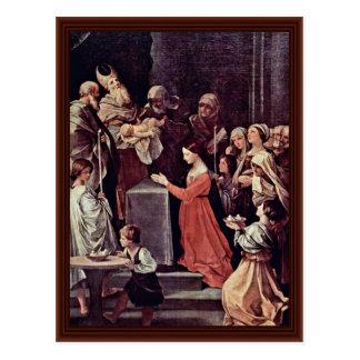 La purificación de la Virgen de Reni Guido Postales