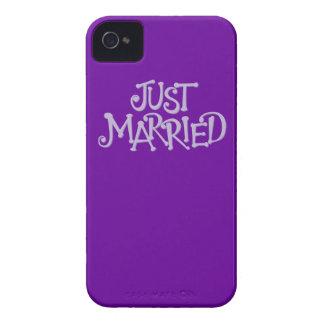 La púrpura acaba de casar la caja del iPhone 4 iPhone 4 Case-Mate Protectores