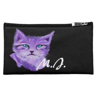 La púrpura artística de encargo pintó el gato con
