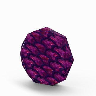 La púrpura bonita aviva el modelo abstracto