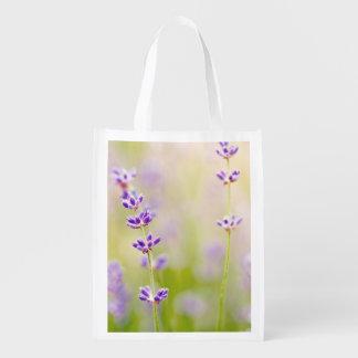 la púrpura bonita florece calmar natual de la bolsa para la compra